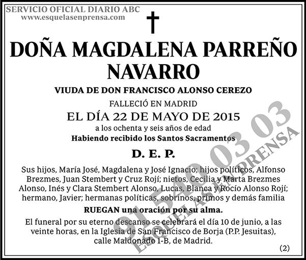Magdalena Parreño Navarro